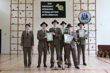 Rywalizowali w XVIII Mistrzostwach Europy w umiejętnościach leśnych.