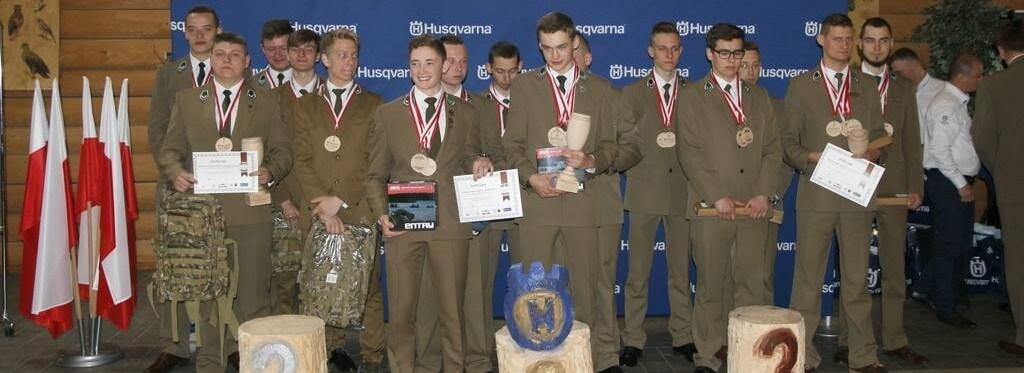 Sukcesy szkolne - Mistrzostwa Polski Szkół w umiejętnościach leśnych