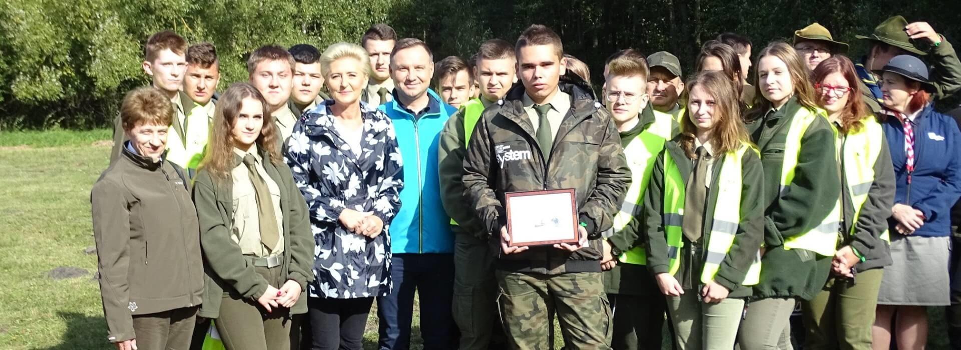 Ogólnopolskie akcje #sprzątaMY las