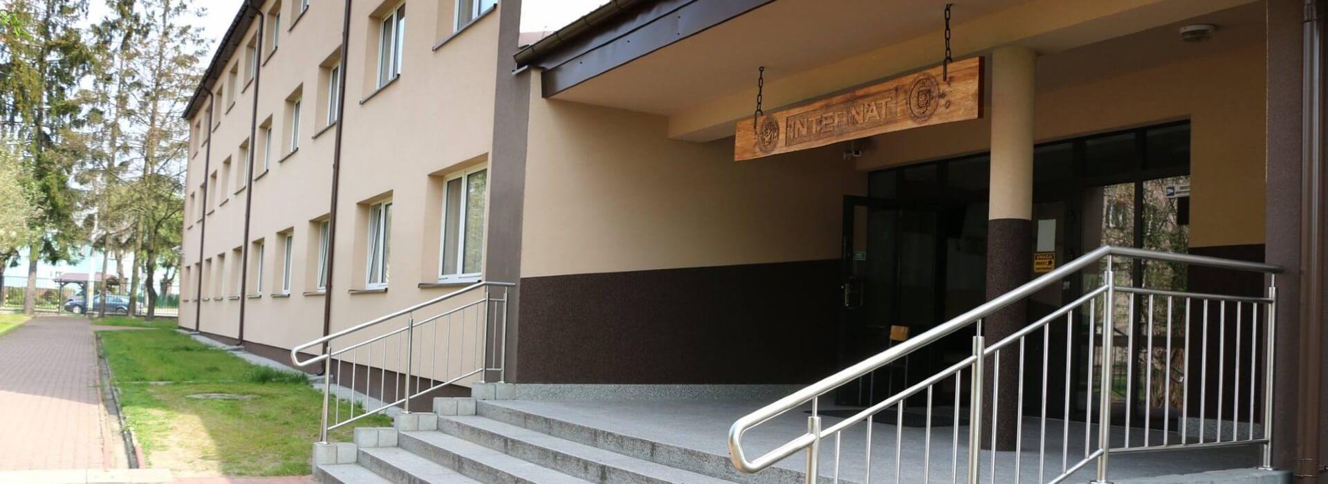 Internat Zespołu Szkół Leśnych w Biłgoraju